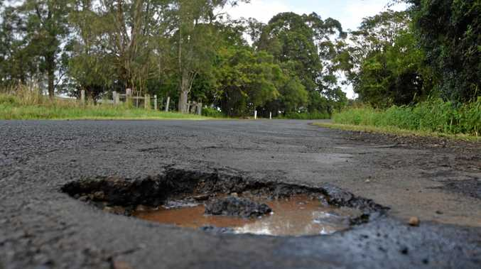 ROCKY ROADS: A new NRMA report revealed Lismore Council needs $79.27m to repair its roads which are are suffering pothole fever after recent floods and weather events.