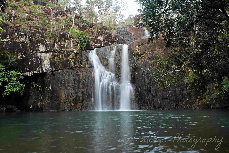Morgs Henderson: Cedar Creek Falls.
