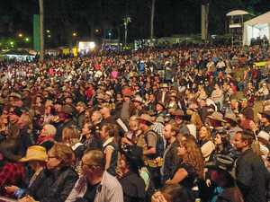 Jess draws massive Muster crowd on Saturday night