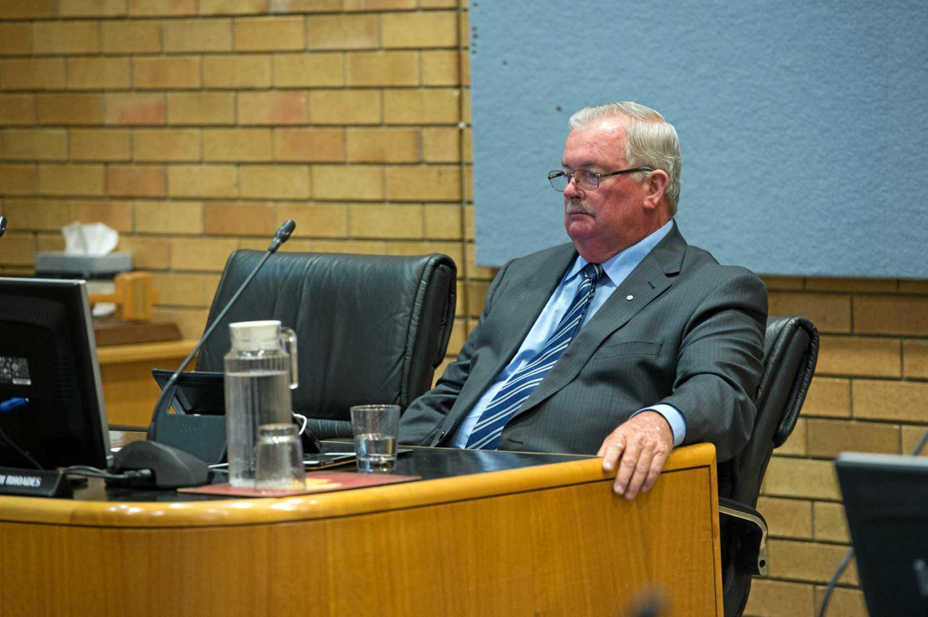 Councillor Keith Rhoades.