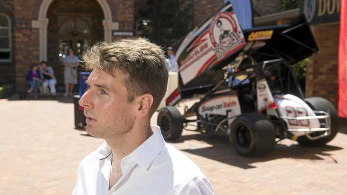 HEALTHY: Toowoomba's IndyCar driver Will Power.
