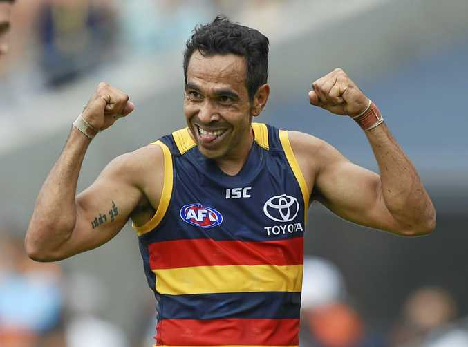 Eddie Betts is one of eight Crows players in the running for AA honours.