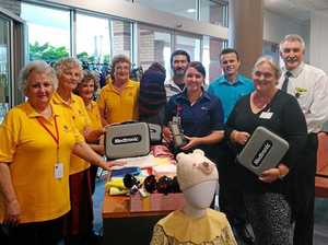 Auxiliary donations keep hearts beating