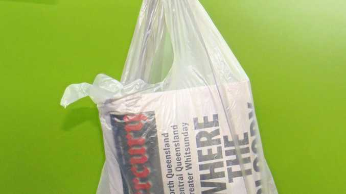 DAYS ARE NUMBERED: Supermarkets are phasing out single-use plastic bags.