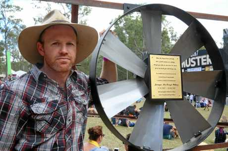 Ben Willcox, and his wife Elizabeth, lost their five-month-old daughter Jasmyn to Sudden Infant Death Syndrome on June 24, 2017. The couple laid a plaque at the windmill near main stage at the Gympie Music Muster.