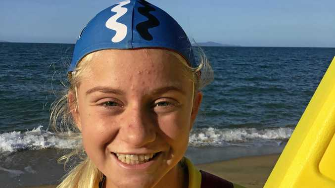 JUNIOR CHAMP: Brianna Baker is the Queensland under 14 Junior Lifesaver of the Year.