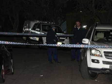 The three-year-old girl was found dead at the scene when police arrived.