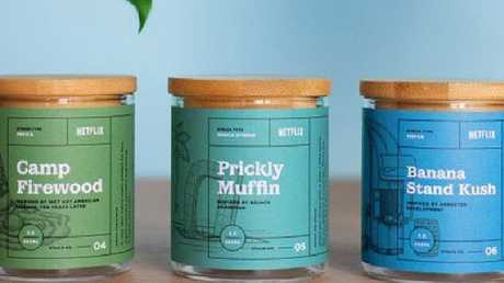 Netflix is releasing its own branded cannabis as part of a promotion.