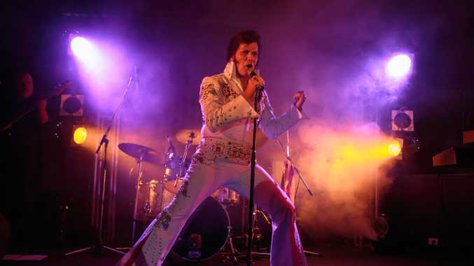 ALL SHOOK UP: Dean Vegas will rock the stage at the Hervey Bay RSL on September 9.