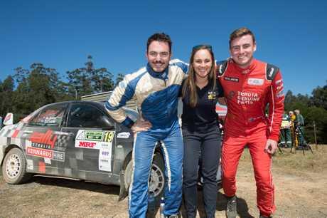 Nathan Quinn, Molly Taylor and Harry Bates.