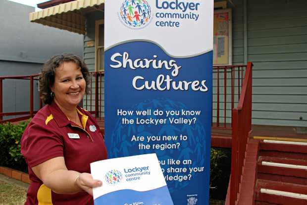 SHARING IS CARING: Linda Roberts hopes Lockyer residents will be happy to share their valuable local knowledge.