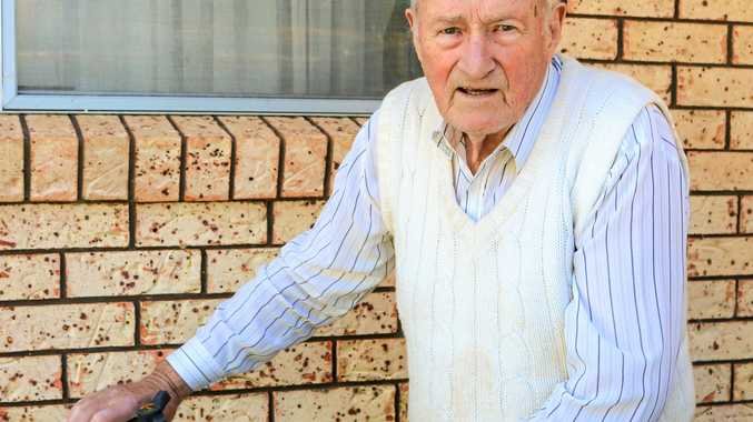 THEFT: Handel Hughes, 90, wants the thief to be caught.