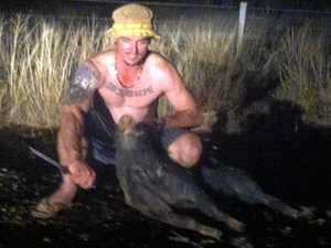 Pig hunting meth user gets caught driving disqualified