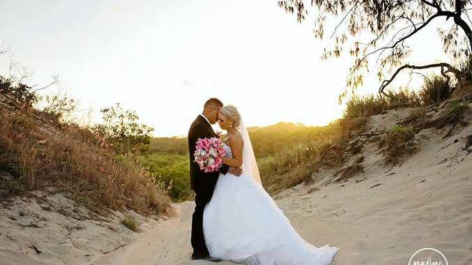 NEWLYWEDS: Amanda and Karl Bailey were married on August 26 this year at the Clarion Hotel.