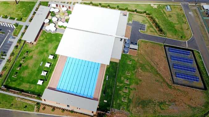 TROPICAL OASIS: The Blackwater Aquatic Centre earned Hutchinson Builders the Master Builders Central Queensland Project of the Year.