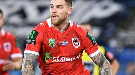 Dragons player Josh Dugan during the round 17 clash with the Titans.