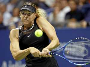 Sharapova's tactics questioned in grand slam return
