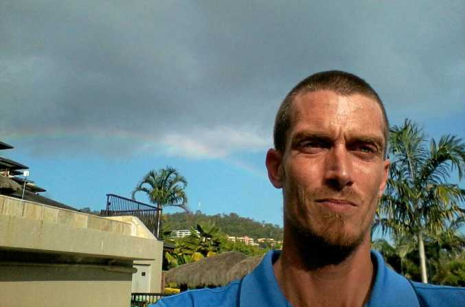 Matthew Ronald Brown, 37, from Mackay was allegedly busted with viagra, alongside housebreaking equipment such as a balaclava, gloves and a torch.