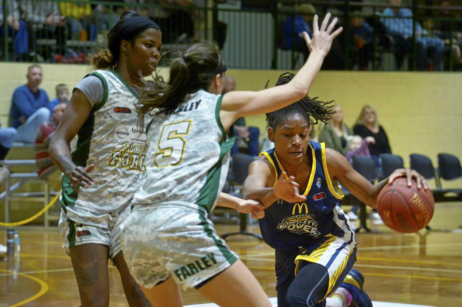 Ipswich v Gladstone women's basketball. Tabatha Richardson-Smith.