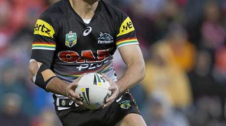 Halfback Nathan Cleary pulls many of the strings for the Panthers.