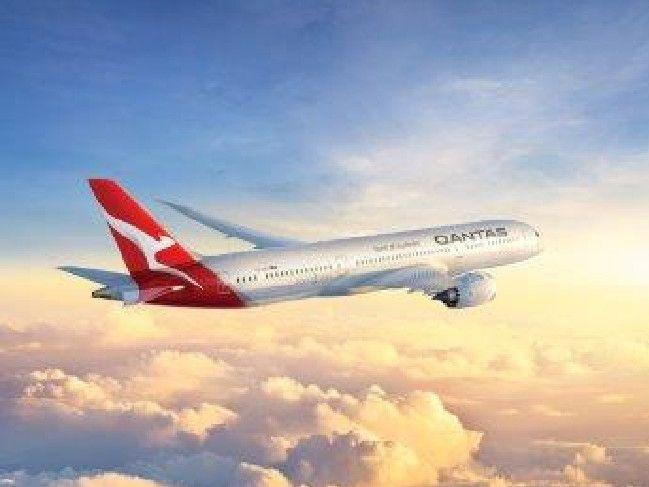 The Qantas 787 Dreamliner