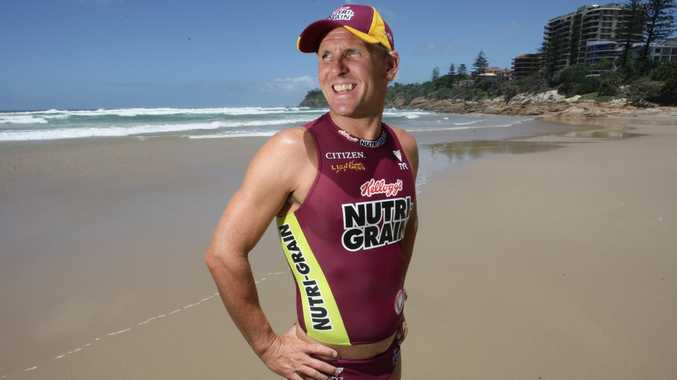 06/02/09 180827 Lifesaving at Coolum Beach. Dean Mercer Photo: Cade Mooney Sunshine Coast Daily