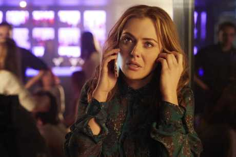 Jessica Marais in a scene from season two of The Wrong Girl.