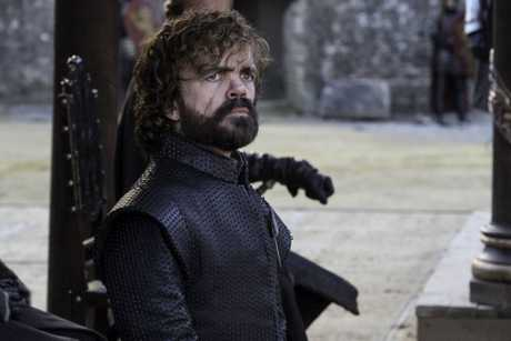 Peter Dinklage in a scene from the season 7 finale of Game of Thrones.