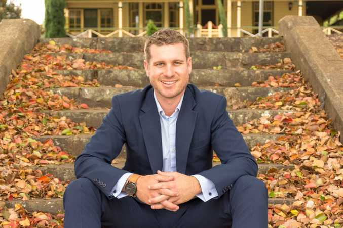 Robbie Witt was named the best real estate agent in Toowoomba by The Chronicle readers.