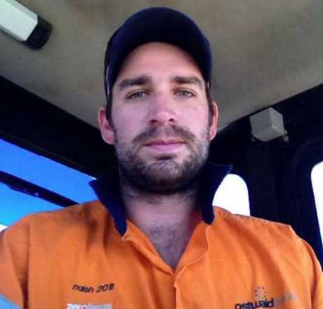 SACKED: Former Ostwald Bros worker Naish Kenny said he wasn't guaranteed redundancy payouts after being told he was one of 260 staff laid off from the civil construction company.
