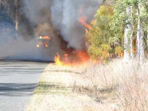 Bushfire enters sixth day
