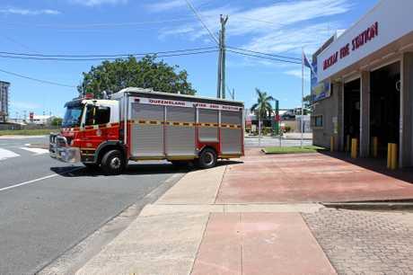 Mackay Fire Station generic.