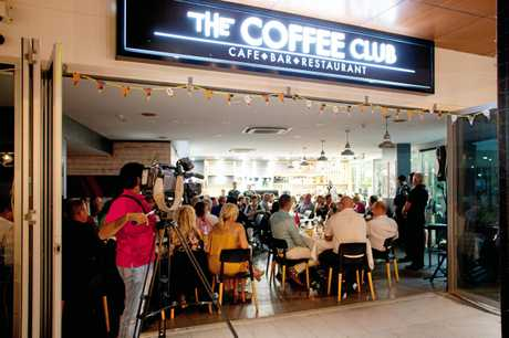The Coffee Club Esplanade was sold out in just hours for the fundraiser to help fight childhood cancers.
