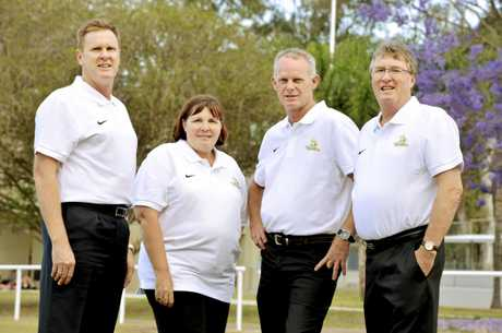 Inaugural Western Pride executive members (from left) Todd Hunt, Wendy Spencer, James Buchanan and Kym Wickstein.