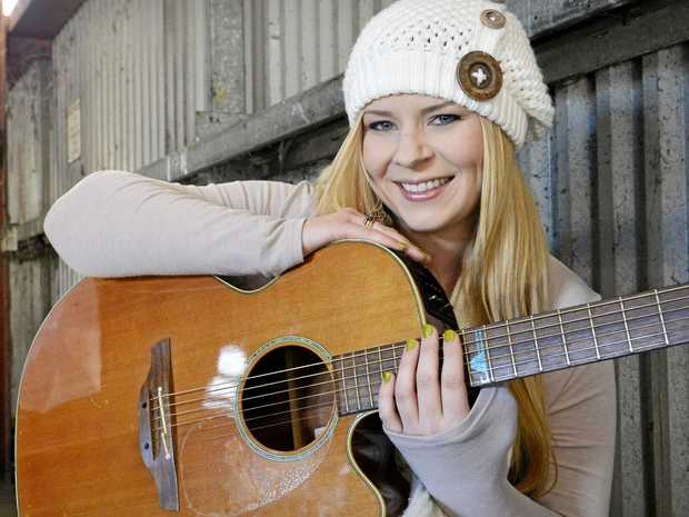 MUSIC TO OUR EARS: Singer-songwriter Rheanna Leschke will perform at Lyrics of the Lockyer.
