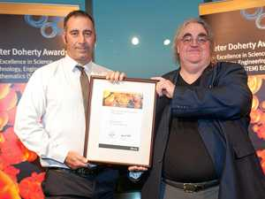 Technology educator recognised with State award