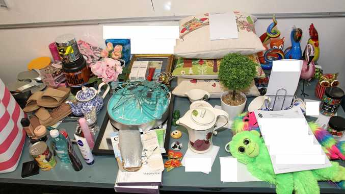 Police have located a quantity of stolen property items which were subject of a number of shop stealing offences in the Maryborough Policing division.