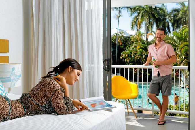 Relax in your room at the QT Port Douglas.