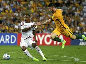 UAE gives Socceroos a hand in Cup qualifying