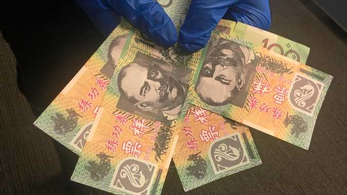 More than $3000 of counterfeit money has been handed in to the Gladstone Police in the past month.
