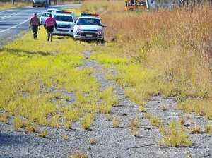 Man crumples ute in drink driving crash at Calliope