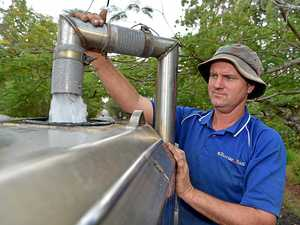 Water trucks forced to turn away desperate Coast families