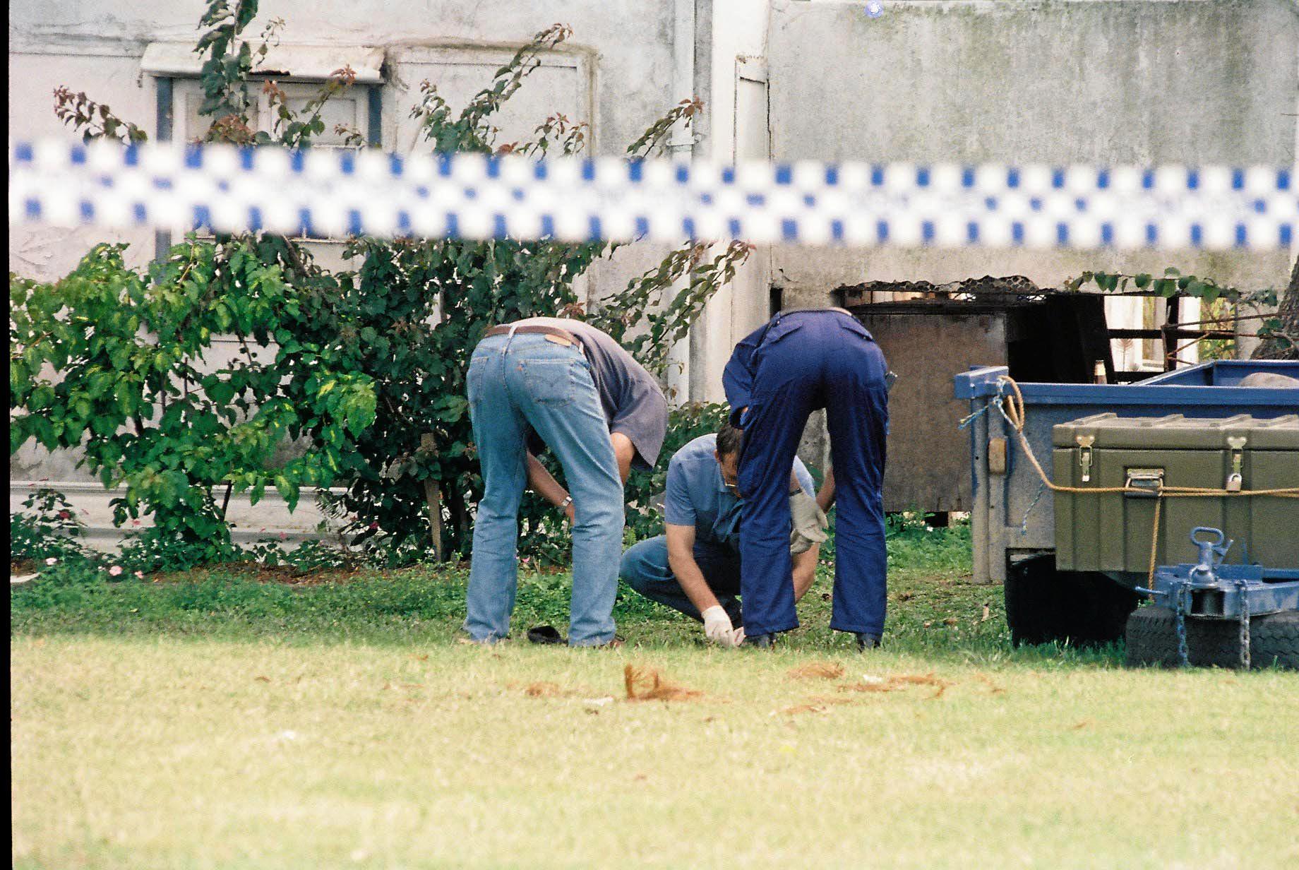 Bikie shoot out in Mackay 1997