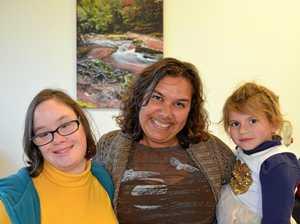 Classes share indigenous dance