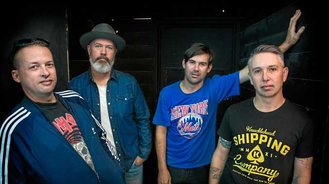 POPULAR: Grinspoon are coming back to the streets of Lismore this weekend.