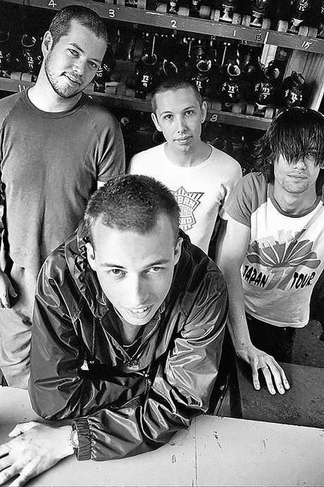 ROCK: Grinspoon in 1997.