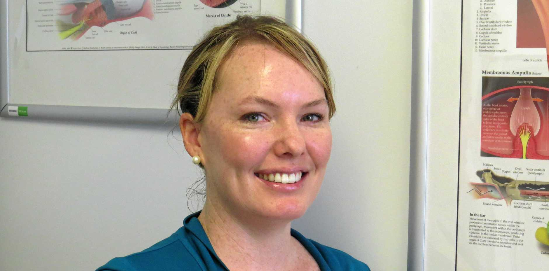 ALL EARS: Mackay Hearing director and principal audiologist, Jodie Miles.