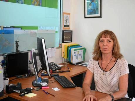 Centacare Maroochydore operations manager Brigitte McLennan.