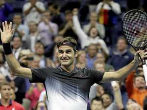 American teenager gives Federer major scare