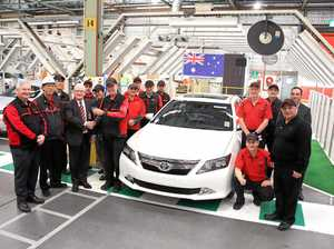 Toyota Aurion V6 production ends early
